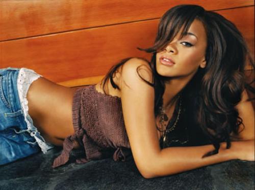 Horizontal Rihanna