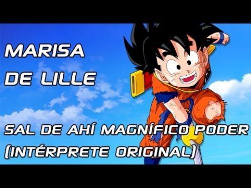 Sal De Ahí Magnifico Poder Ahora (Dragon Ball Z)